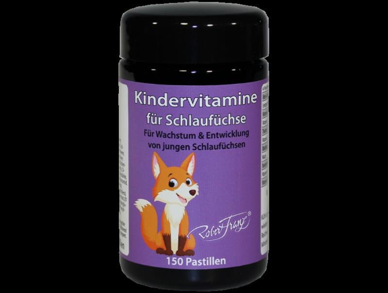 Kinder Multi Vitamine und Mineralien - 150 Pastillen